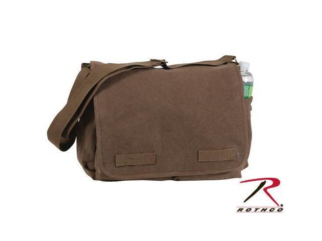 Rothco HW Classic Messenger Bag - Earth Brown