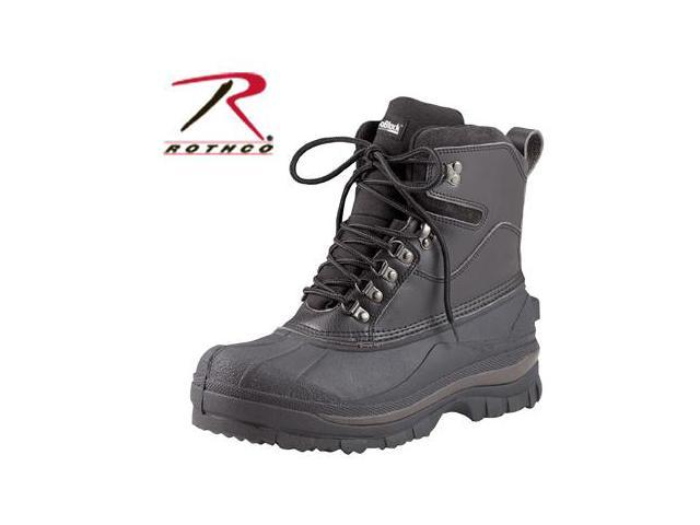 Rothco 8 Inch Cold Weather Hiking Boot in Black