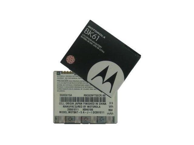 OEM Standard Battery Replacement Bk61 (950mah) For Motorola Vu204 I425 I425e Z6c Slvr L2 L7 L9 Rokr
