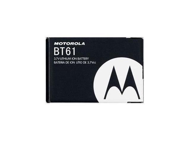MOTOROLA BT61 OEM  Battery for Motorola Charm MB502, C290, V190, V195, V323i, V325, V360, V361, V365, MOTOROKR Z6m, Q, Q9, Q9M, Q9H, Q9C, i880, i885 and Citrus WX445