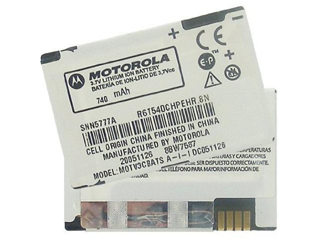 MOTOROLA OEM SNN5777A BATTERY FOR V3s V3t V3r