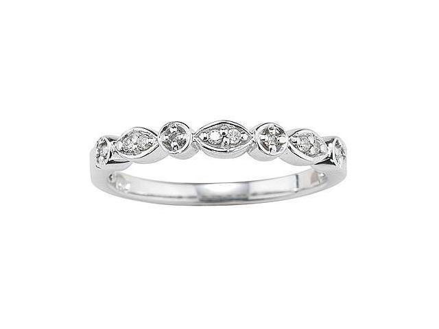 10kt White Gold and Diamond Promise  Ring
