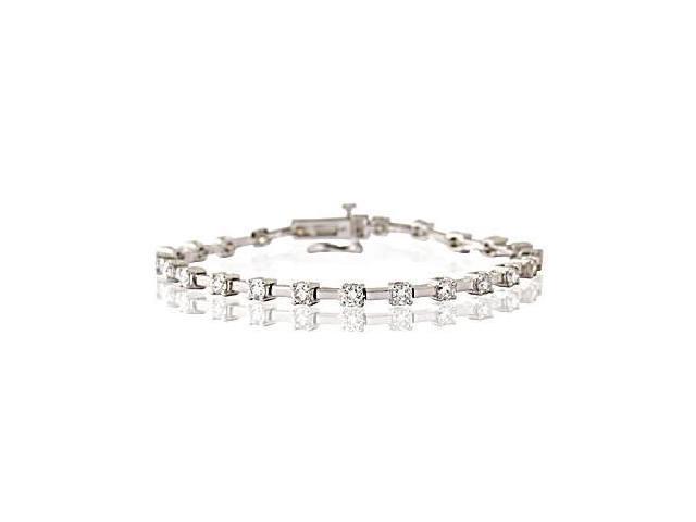 3.00CTW Diamond Bracelet in 14K White Gold