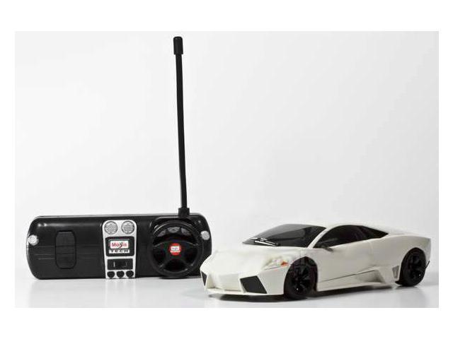 1:24 Maisto Tech Lamborghini Mucilage LP 670-4 SV White Remote Control Car