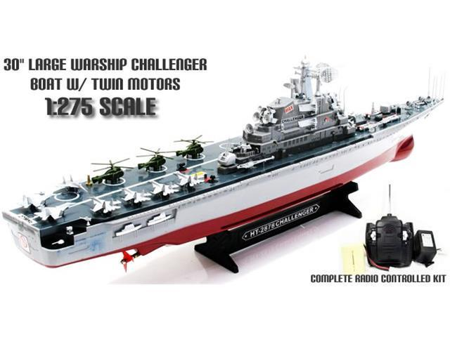 1:275 Aircraft Carrier Radio Remote Control Electric RC Battle Ship, Ready to Run!