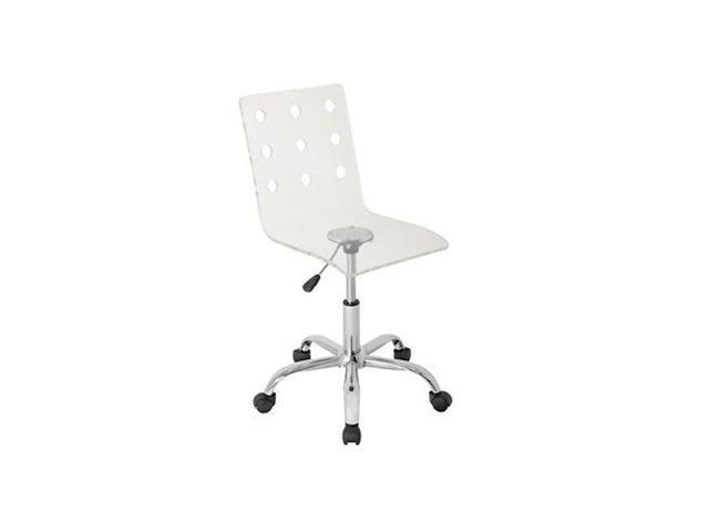 LumiSource OFC-TW-SWISS CL Swiss Acrylic Office Chair