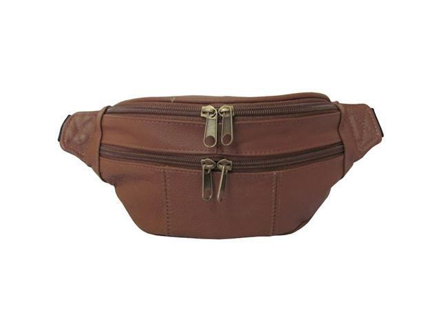 Assorted Leather Fanny Packs (#7311-2)
