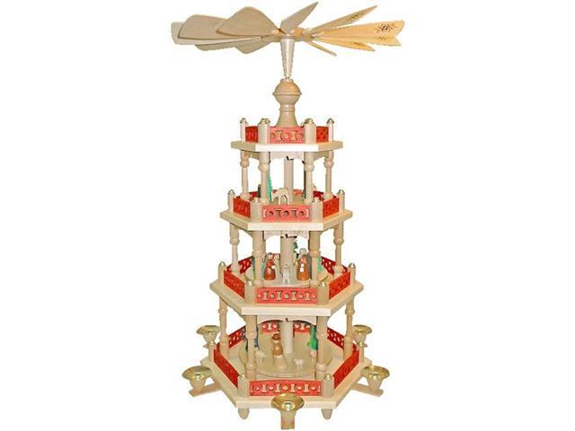 Three Tier Nativity Pyramid