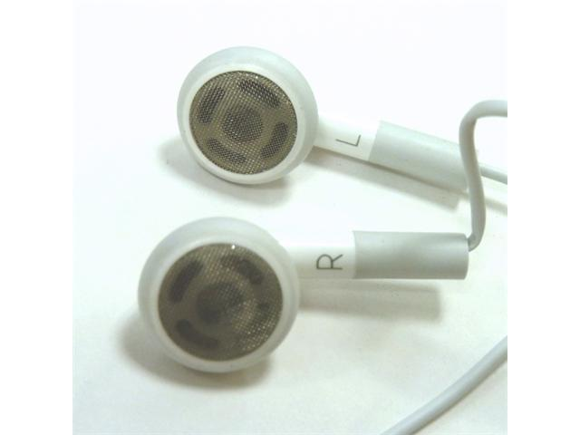Unicase Earphone with microphone for Apple iPhone 4, 3G/3GS, iPad, iPod  MP3, Computer (White) 48 in long