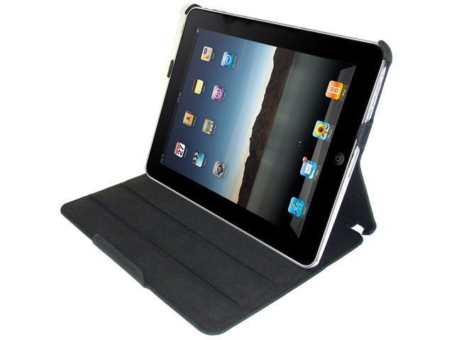 UNICASE*TARTAN FOR iPAD 1 *BLACK with Free Screen Protector