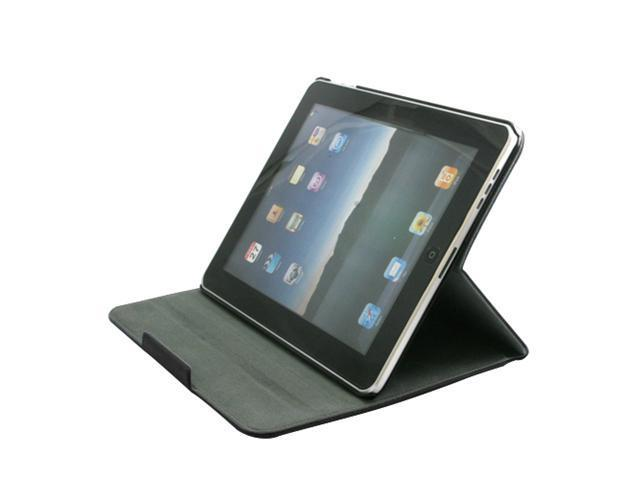 Unicase*Regent for iPad*Black with Free Screen Protector