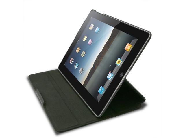 Unicase Grain for iPad 2 Black with Free Screen Protector