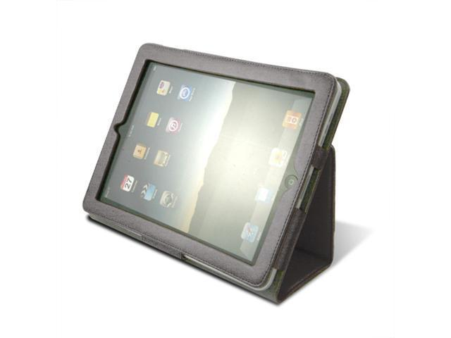 Unicase*Trio for iPad 1 Black with Free Screen Protector