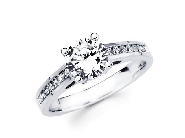 Semi Mount Diamond Engagement Ring 18k Gold Yellow Heart Accent