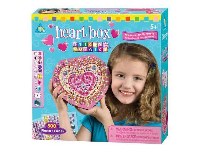 Sticky Mosaics Heart Box