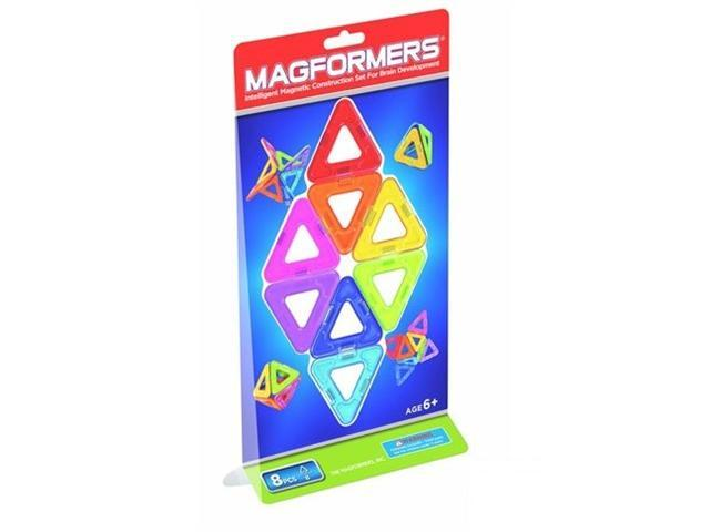 8 Pieces Triangle Magformers Toy by Magformers