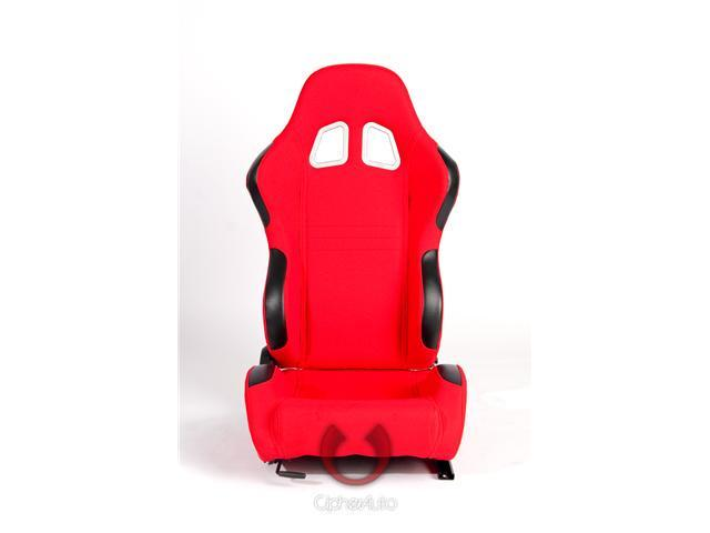 CPA1007 Red Cloth Universal Racing Seats
