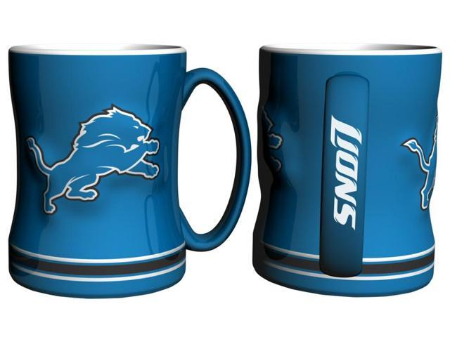 Detroit Lions Coffee Mug - 15oz Sculpted