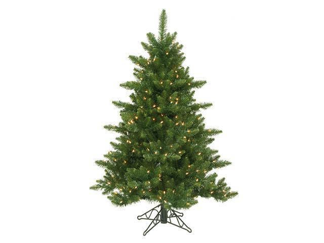 4.5' Pre-Lit Camdon Fir Full Artificial Christmas Tree - Clear Lights