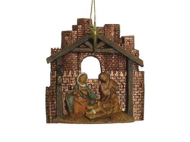 Fontanini Holy Family Christmas Nativity Ornament #56321