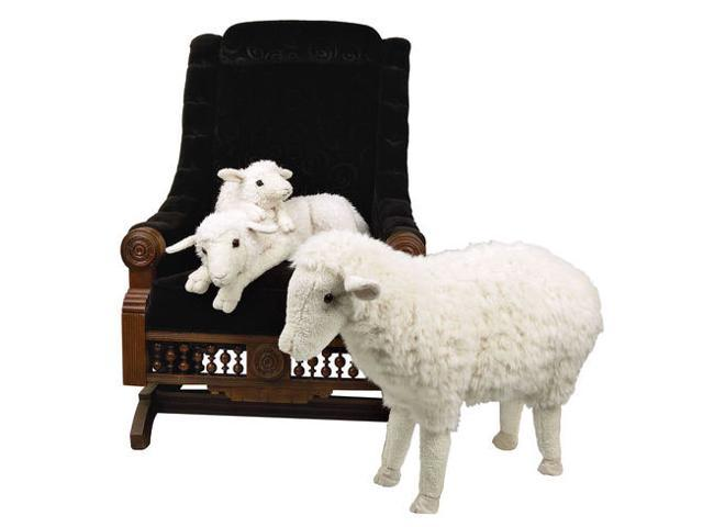 "23"" Life-Like Extra Soft and Cuddly Plush Lamb Stuffed Animal Hug"