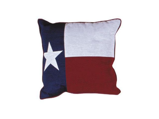 Set of 2 Long Star Texas State Flag Decorative Tapestry Throw Pillows 17