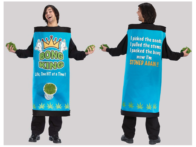 Bong King Men's Adult Halloween Costume One Size Fits Most #5451