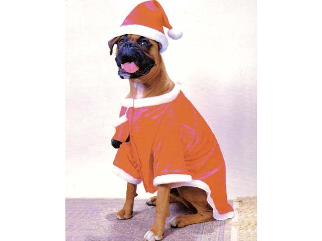 Happy Holly 2 Piece Santa Claws Holiday Dog Costume