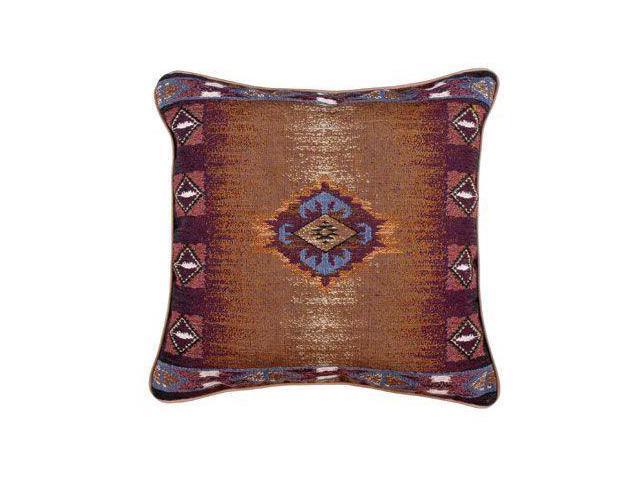 """Southwest"" Decorative Accent Throw Pillow 17"" x 17"""