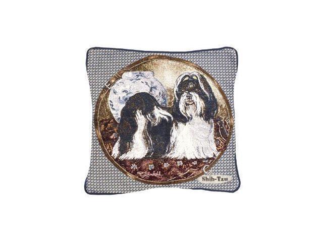 Shih-Tzu Dog Animal Decorative Throw Pillow 17