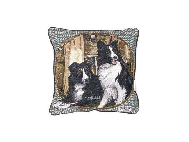 Border Collie Dog Animal Decorative Throw Pillow 17