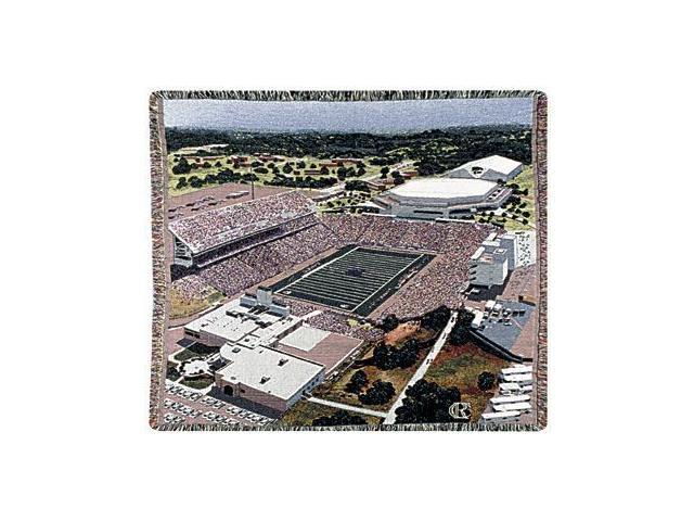 Kansas State University Bill Snyder Stadium Tapestry Throw Blanket 50