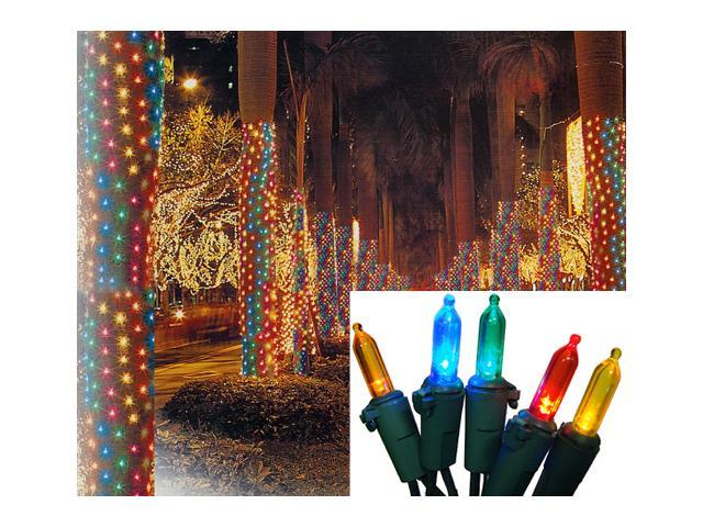2' X 8' Multi-Color LED Net Style Tree Trunk Wrap