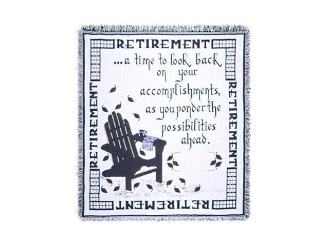 Retirement A Gift To Remember Retiring Goodbye Afghan Throw 48