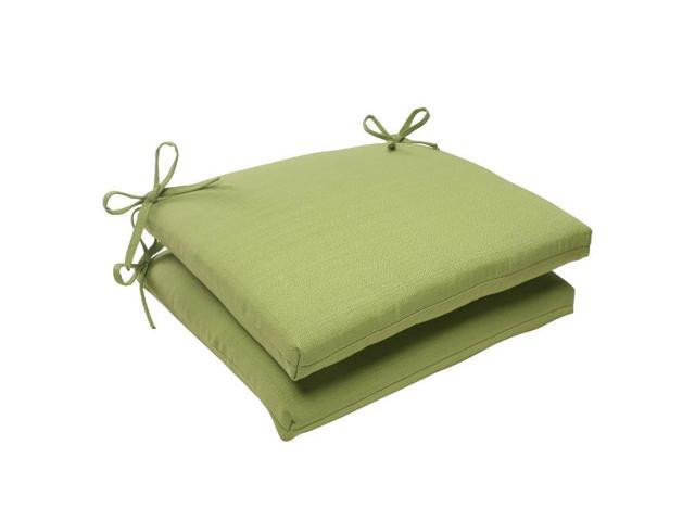 meadow green outdoor patio square chair cushions 18 5