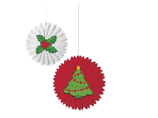 Red Berry Christmas Tree Decorations : Club pack of red berry green holly and christmas tree