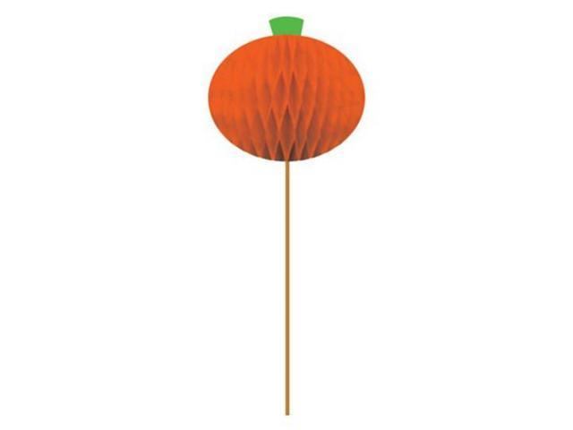 Pack Of 288 Honeycomb Halloween Pumpkin Wooden Party Hors