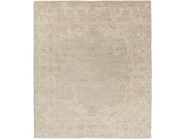 6' X 9' Faded Classics Light Gray, Tan Brown And Sage