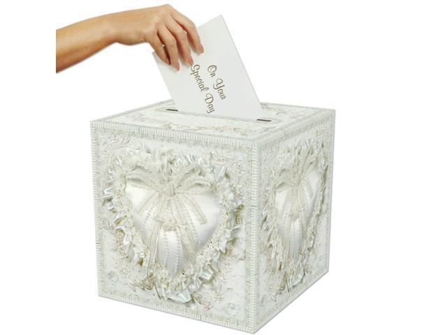 Elegant Wedding Gift Card Box : of 6 Elegant Romantic Heart Wedding Anniversary Party Gift Card Boxes ...