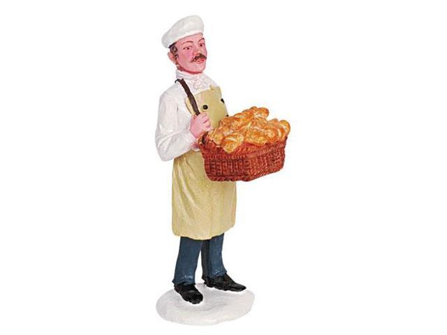 Lemax village bread delivery christmas figurine