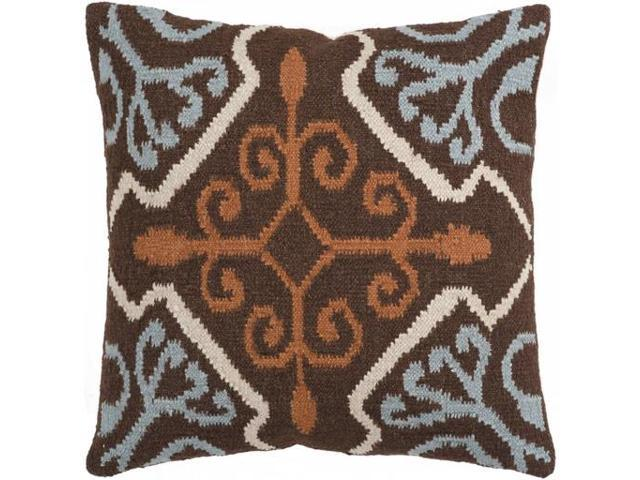Light Blue And Brown Decorative Pillows : 22