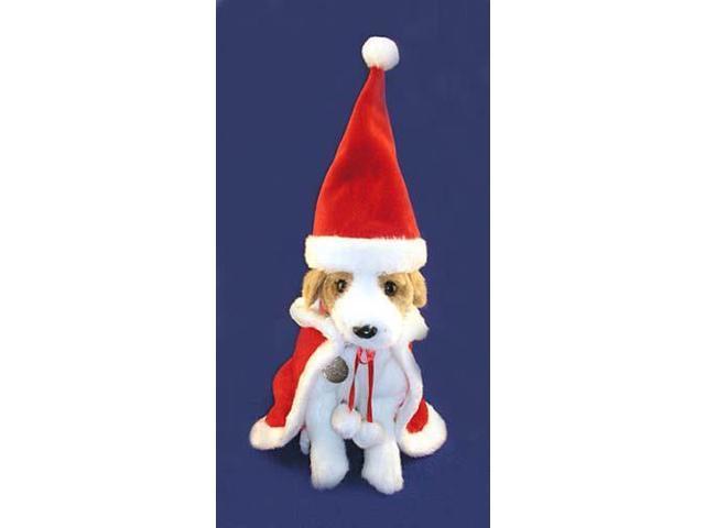 2-Piece Christmas Santa Claus Suit For Pet Dog Or Cat Size Large #EX11439