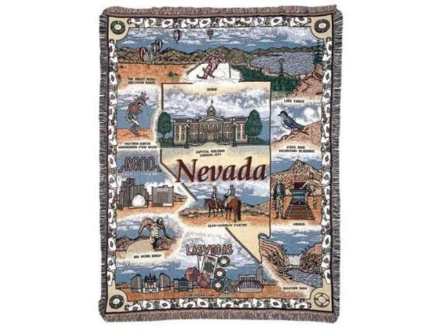 State of Nevada Tapestry Throw Blanket 50