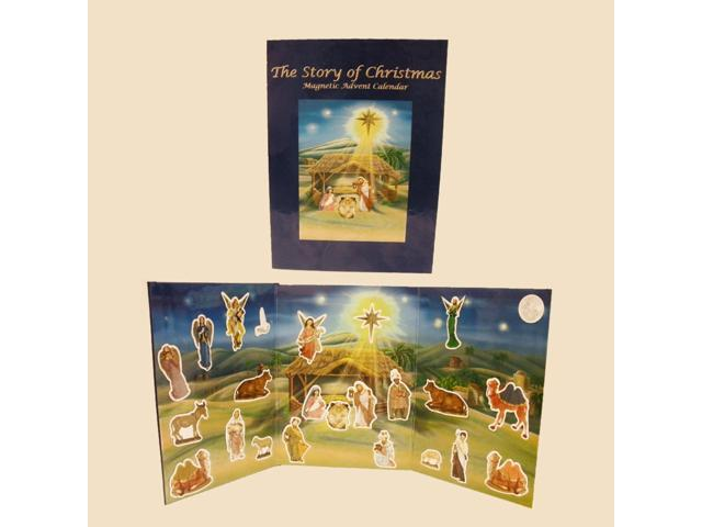 Magnetic Nativity Book Advent Calendars