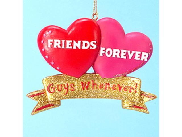 Friends Forever Guys Whenever! Christmas Ornament #W3815
