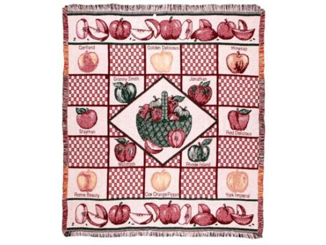 An Apple A Day Apple Lover Afghan Throw Blanket 50