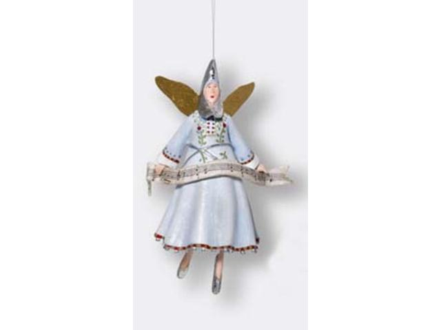 Department 56 Silent Night Angel Moon Head Christmas Ornament #38681