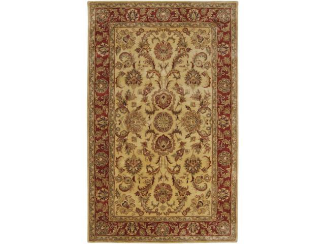 5' x 8' Montpellier Cumin, Brown Sugar, Russet and Chocolate Wool Area Throw Rug