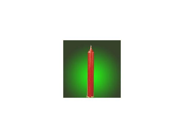 Club Pack of 144 Solid Red Drip-Less Wax Taper Christmas Candles 4