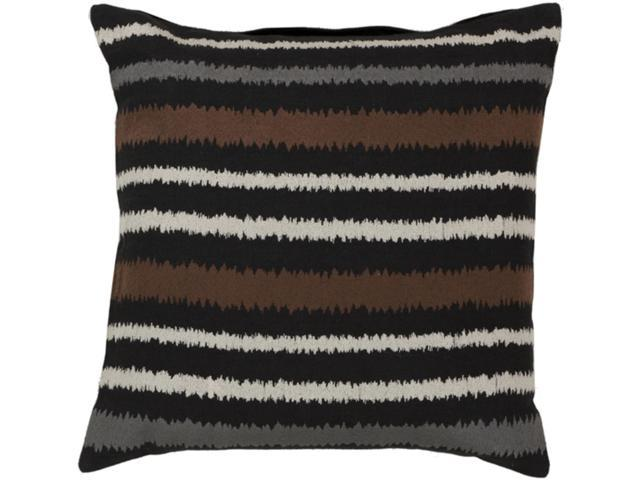 Black And Ivory Throw Pillows : 18